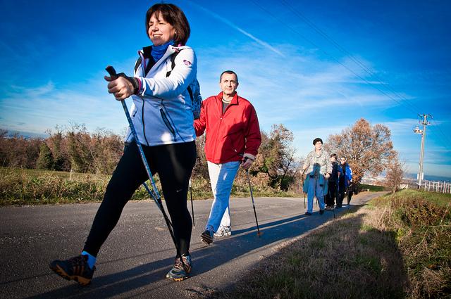 Nordic Walking sposobem na zdrowie