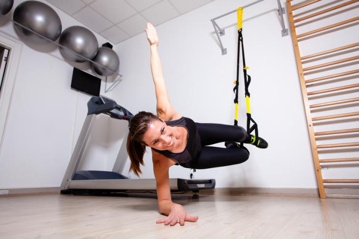 Trening TRX to system ćwiczeń właśnie dla Ciebie!