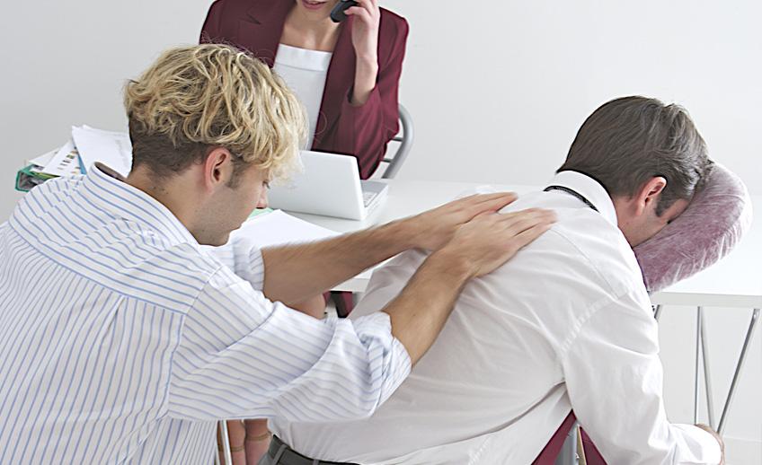 Masaż dla firm, masaż firmowy