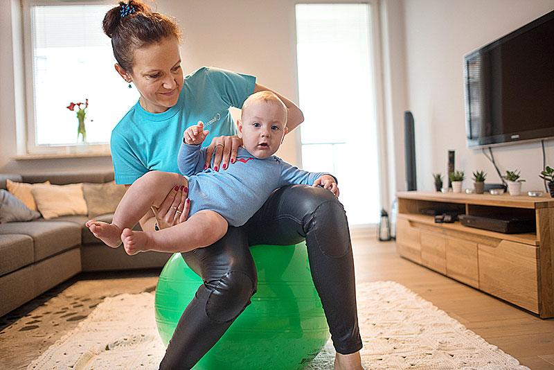 rehabilitacja niemowląt, rehabilitacja noworodków